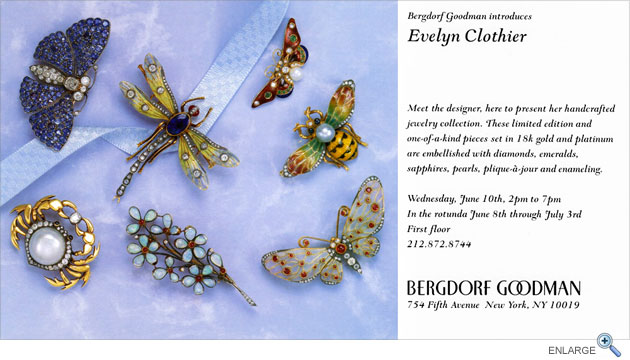 Evelyn Clothier jewelry at Bergdorf Goodman